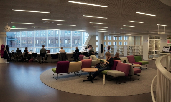University of Helsinki Library_Chill Zone