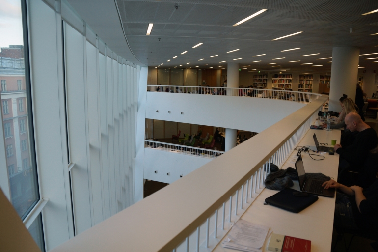 University of Helsinki Library_Secondary Atrium 2