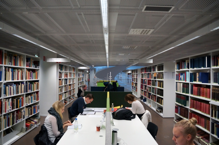 University of Helsinki Library_Study Space